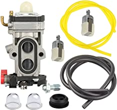 Panari WYA-155 Carburetor + Fuel Line Filter for RedMax Red Max EBZ8500 EBZ8500RH Backpack Leaf Blower WYA-155A
