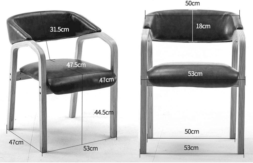 Dining chair Chaise de Salle à Manger WGZ - Chaise Moderne Minimaliste pour la Maison - Tabouret créatif - Chaise de Bureau Simple B
