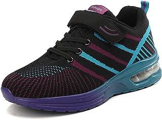 Calzado Deportivo para Mujer Zapatillas de Deporte con Burbujas de Aire Zapatillas para Correr Carrera Canasta para Trotar...