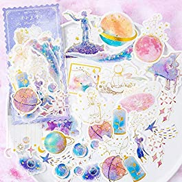 CHengQiSM The Little Prince Sticker Planet and Fox Stickers Set (60PCS) Decorative Sticker Decoration for Scrapbooking…