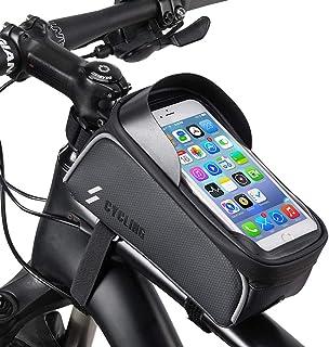 HHD Bike Phone Front Frame Bag - Waterproof Top Tube...