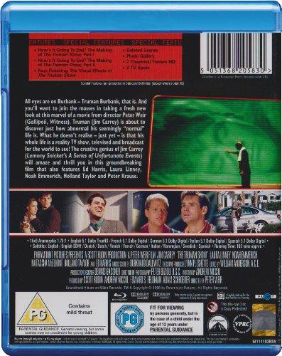 The Truman Show [Blu-ray] [1998] [Region Free]