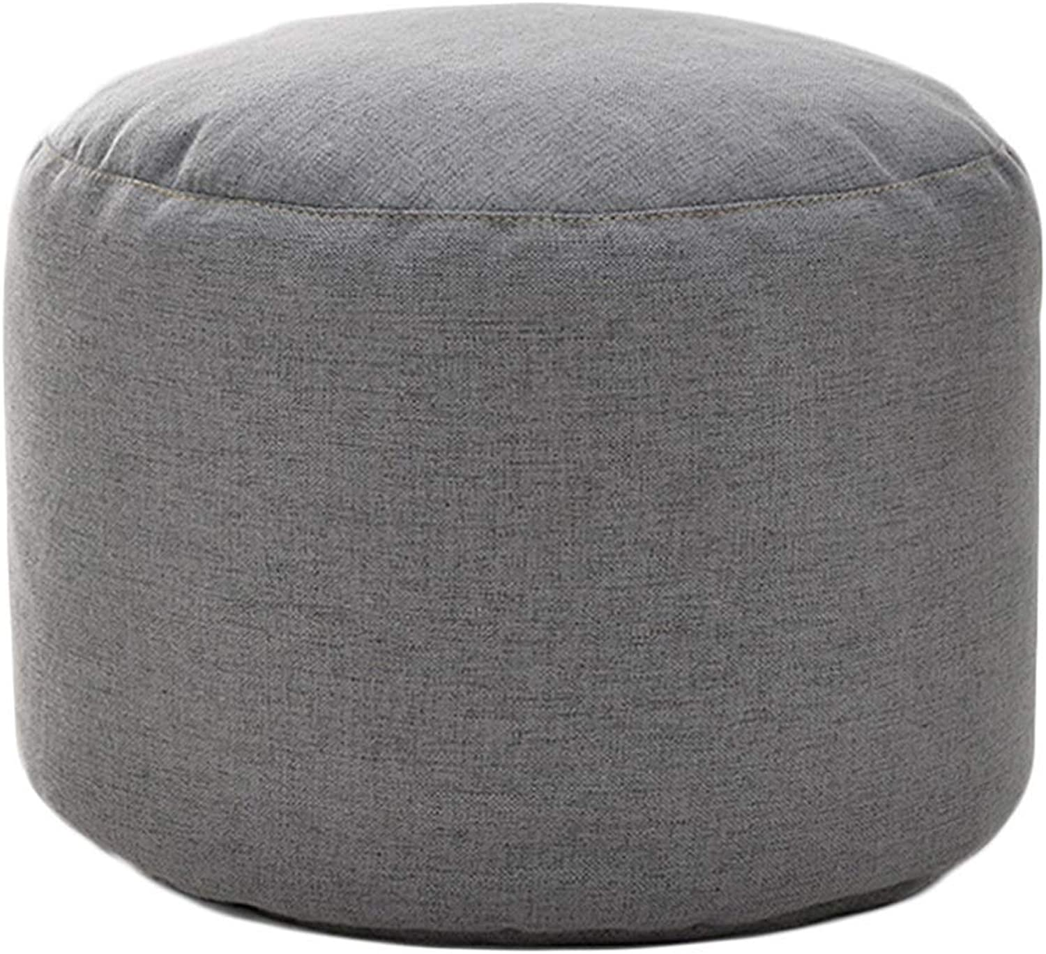 Footstool Simple Cloth Multifunction Household Sofa Stool Small Stool Change shoes Bench Dressing Stool GMING (color   B, Size   30x30x22cm)