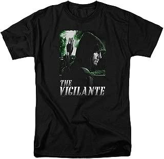 Arrow TV Show The Vigilante DC Domics T Shirt & Stickers