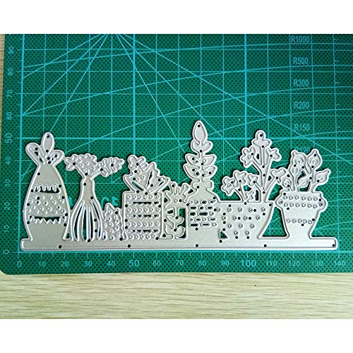 Bonsai Creative Metal Cutting Dies Stencils Scrapbooking Embossing DIY Crafts Template for Album Paper Card Decor Craft etc