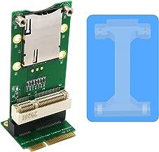 BQZYX+ Mini PCI-E Adapter with SIM Card Slot(Vertical Installation) for 3G/4G,WWAN LTE,GPS Card