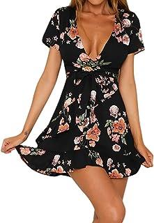 brand new e77bc bdc06 Amazon.it: fiori - A portafoglio e sblusato / Vestiti ...