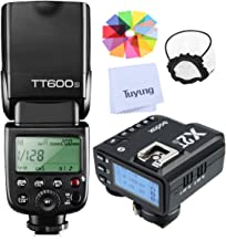 Godox TT600S 2.4G Wireless X-System TTL GN60 High-Speed Sync 1/8000s Flash Speedlite with X2T-S Trigger Transmitter Compatible for Sony Cameras