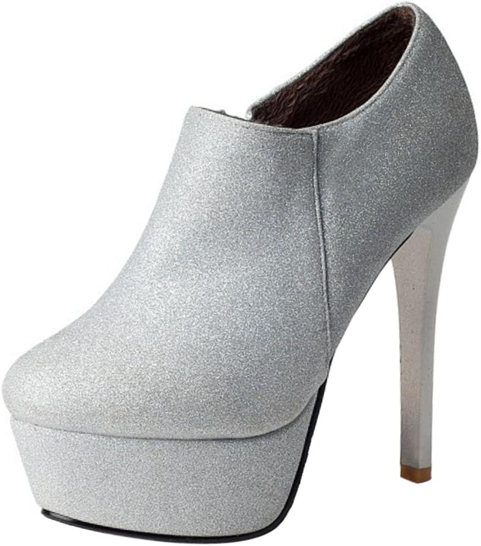 AicciAizzi Women Fashion Stiletto Booties