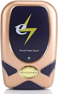 FTVOGUE 28KV Electric Power Saver Home Engergy Factor Saving Box Device Tools US Plug(Gold)