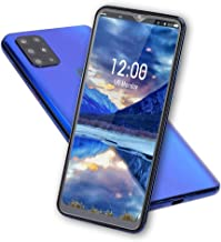 """S20 Unlocked Smartphone, Cell Phone with Dual SIM Card Slot, 4 Core Cell Phone, 6.7"""" HD Screen, 128G Memory Card, 8MP + 13..."""