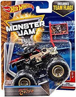 HOT WHEELS 2017 Monster Jam 25th Anniversary PIRATE'S CURSE w/Team Flag epic additions