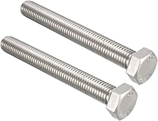 M12 40mm HEXAGON BOLTS NUT /& Washer TD A4-70 Stainless Steel
