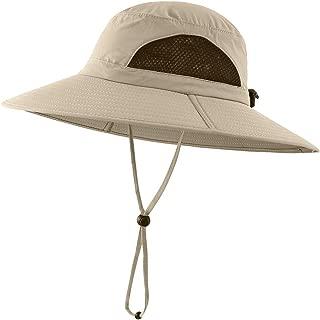 Pesca Vacanza Spiaggia TOSKATOK/® Unisex Uomo Leggero Maglia Leggera Traspirante Ampia Visiera a Tesa Larga in Outback Safari Hat con Cinturino Regolabile per Protezione Solare