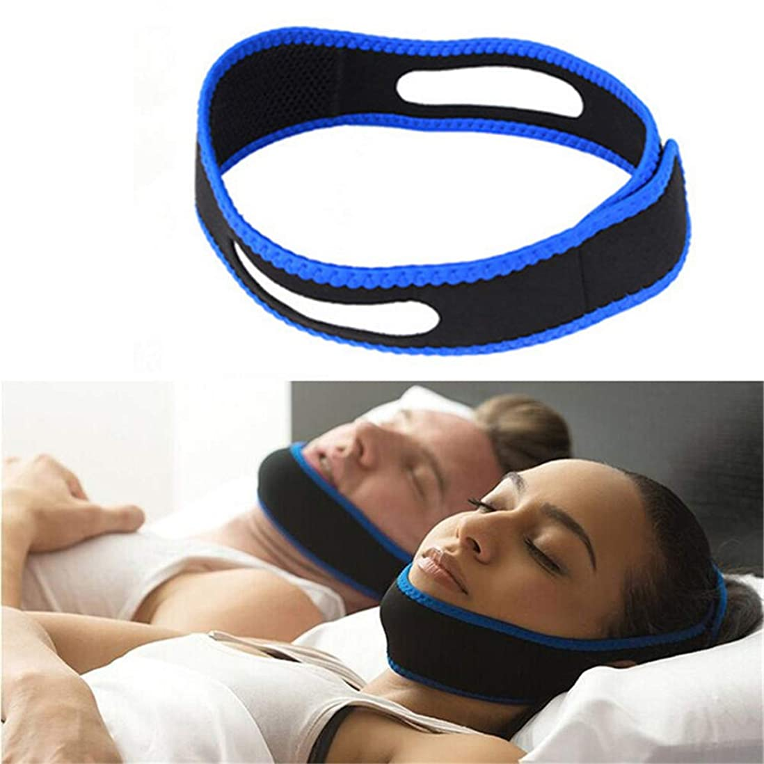 非互換場合美徳Angzhili いびき軽減グッズ いびき防止装置 いびき対策グッズ 睡眠補助 快眠サポーター 肌に優しい サイズ調整可能 男女兼用