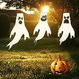 JOYIN 3 pezzi di Sacco a vento di fantasma da 46 cm decorazione appesa per Halloween prato decorazione interna ed esterna