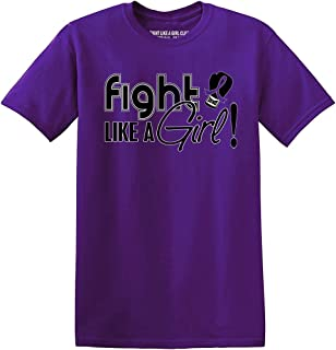 Fight Like a Girl Signature Unisex T-Shirt (Assorted Colors)