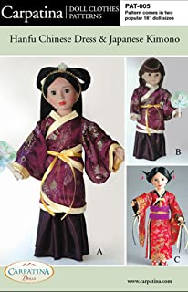Best kimono pattern for 18 doll Reviews