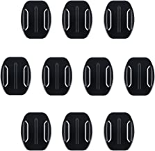 AFAITH 10 Pack of 3M Flat Adhesive Mounts for GoPro Camera Case