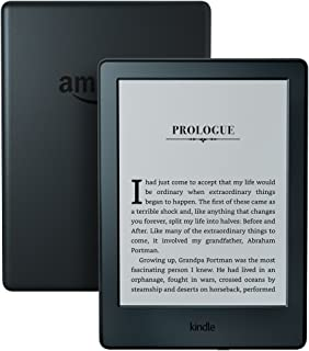 "Kindle (8th Gen) - 6"" Glare-Free Touchscreen Display, Wi-Fi, Black"