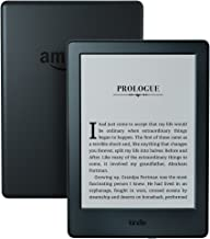 """Certified Refurbished Kindle E-reader (Previous Generation - 8th) - Black, 6"""" Display, Wi-Fi, Built-In Audible - Includes ..."""