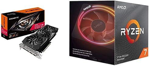 Gigabyte Radeon Rx 5700 Xt Gaming OC 8G Graphics Card, PCIe 4.0, 8GB 256-Bit GDDR6, Gv-R57XTGAMING OC & AMD Ryzen 7 3700X ...