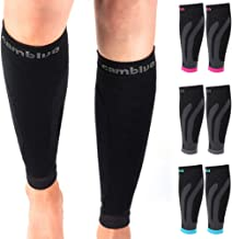 CAMBIVO 3 Pairs Calf Compression Sleeve for Women and Men,Leg Brace for Running, Cycling, Shin Splint Support for Working ...