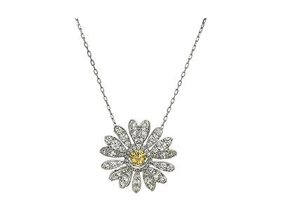 Swarovski Eternal Flower Pendant Necklace (CZ White 1) Necklace