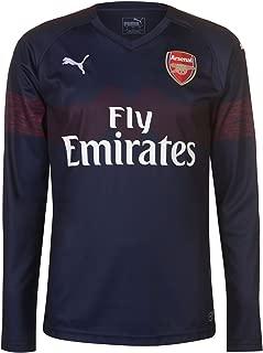 2018-2019 Arsenal Away Long Sleeve Football Soccer T-Shirt Jersey