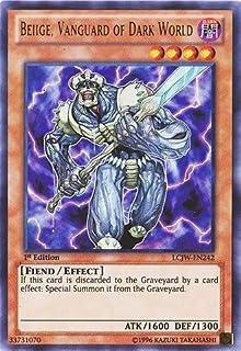 YU-GI-OH! - Beiige, Vanguard of Dark World (LCJW-EN242) - Legendary Collection 4: Joey's World - 1st Edition - Ultra Rare