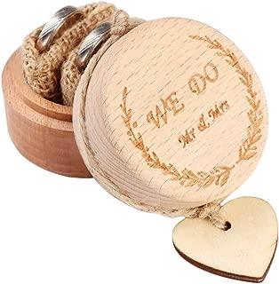 Amazon.es: Madera anillos de compromiso: Joyería