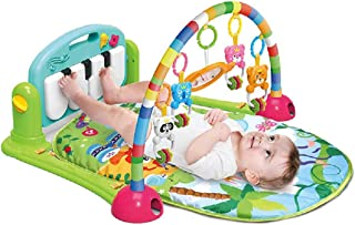 MumooBear Baby Piano Fitness Playmat Newborn Educational Activity Play Gym Mat Toy