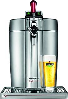 Krups Beertender Loft Edition Silver/Chrome Machine à bière, Tireuse à bière, Pompe à bière, Machine à bière pression, Fût...