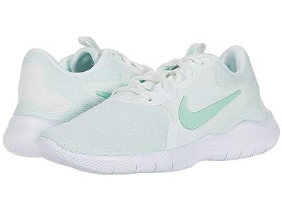 Nike Flex Experience Run 9 (Summit White/Mint Foam) Women
