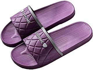 Household Bath Slippers, Men's And Ladies' Home Slippers, Non-Slip Swimming Pool Beach Slippers, Leaky Open-Toe Sandals