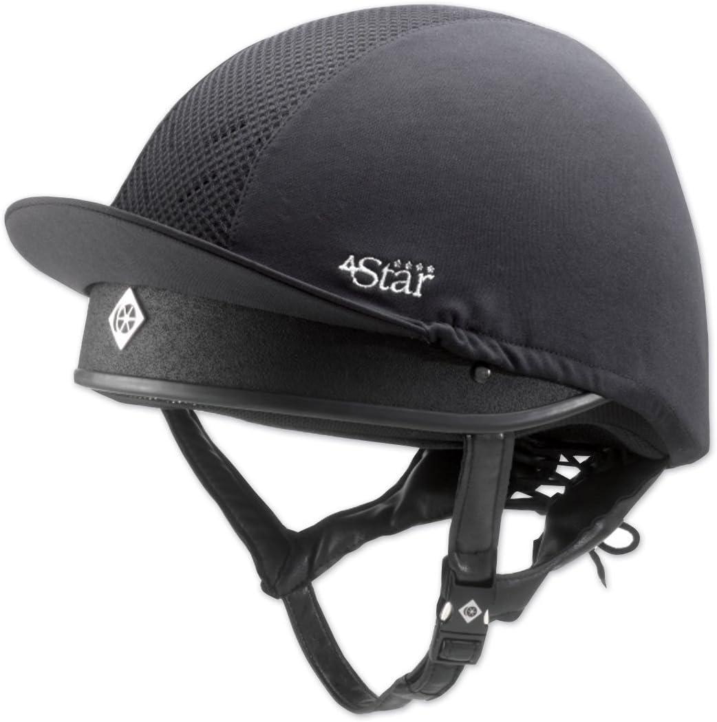 Translated Charles Owen 4Star overseas Helmet Jockey