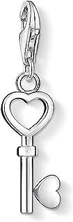 Thomas Sabo Femmes-Pendentif charm Clé Charm Club Argent Sterling 925 0888-001-12