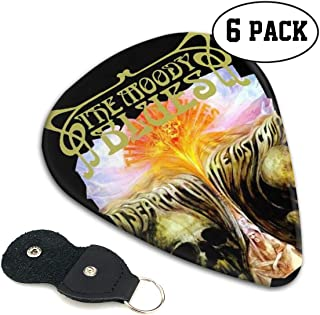 Sebastiane The Moody Blues In Search Of The Lost Chord Tees Exquisite Guitar Pick (6 Packs) For Electric Guitar Acoustic Guitar Mandolin Bass