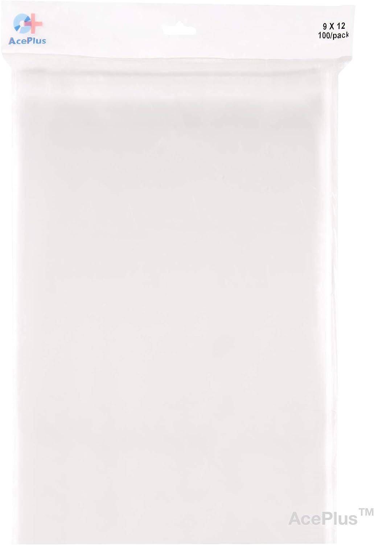 AcePlus 100 Max 48% OFF Peel Seal Resealable Clear x Plastic Arlington Mall 9