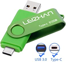 leizhan 128GB USB Flash Drive USB 3.0 Type C Phone Picture Stick for Samsung Galaxy S10+, S10e, S10,S9, Note 9, S8, S8 Plu...