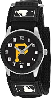 Game Time Youth MLB Rookie Black Watch - Pittsburgh Pirates (P Logo)