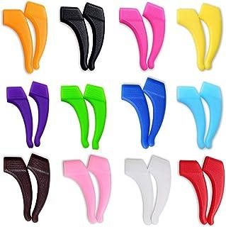 12 Pairs Glasses Hooks Silicone Anti-slip Holder for Glasses Ear Hooks Eyeglasses Temple Tips Sports Glasses Holder
