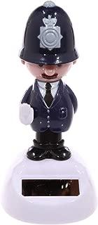 Puckator Ff66english Policeman Figurine Solar Plastic Dark