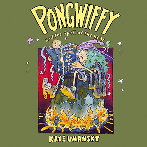 Pongwiffy And The Spell Of The Year audiobook cover art