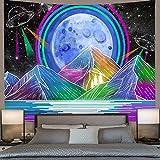 AJleil Puzzle 1000 Piezas 3D Sol y Luna Mandala decoración Pintura psicodélica Puzzle 1000 Piezas Adultos Educativo Divertido Juego Familiar para niños adultos50x75cm(20x30inch)
