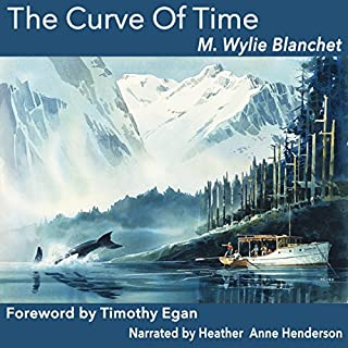 The Curve of Time audiobook cover art