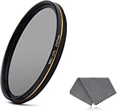 LENSKINS 67mm CPL Circular Polarizing Filter for Camera Lenses, 16-Layer Multi-Resistant Nano Coated, Ultra Slim, German Optics Glass, Weather-Sealed, Circular Polarizer Filter with Lens Cloth