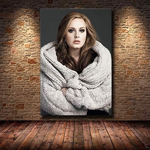 wZUN Superstar HD impresión del Cartel Imagen Lienzo Pintura Sala de Estar Dormitorio decoración Pintura 60x90 Sin Marco
