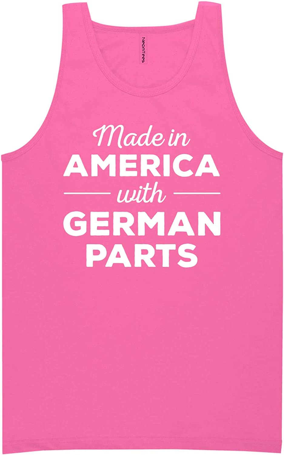 Made in America w/German Parts Neon Tank Top