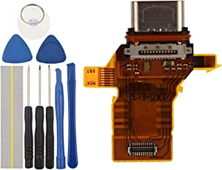 كابل منفذ USB مرن مزود بحلقة مقاومة للماء متوافق مع هاتف Sony Xperia XZ Premium G8141